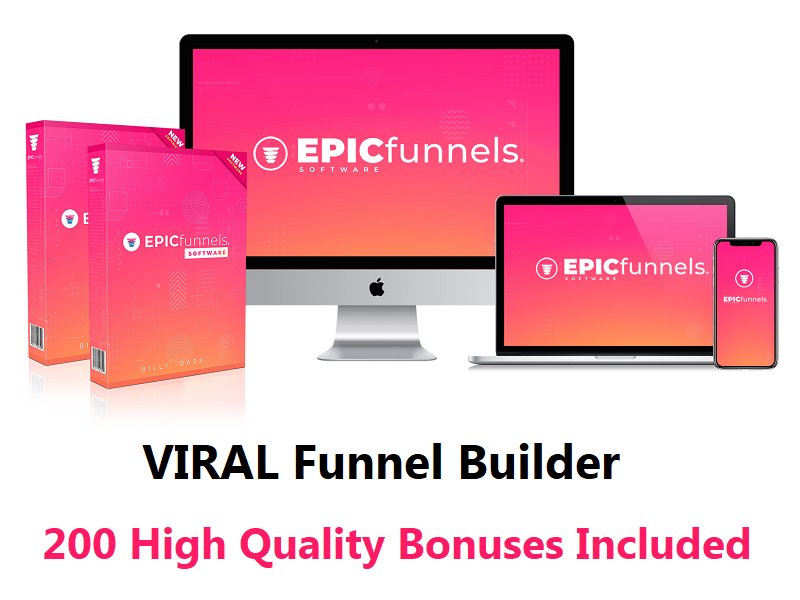EPICfunnels – VIRAL Funnel Builder At A 1-Time Price!