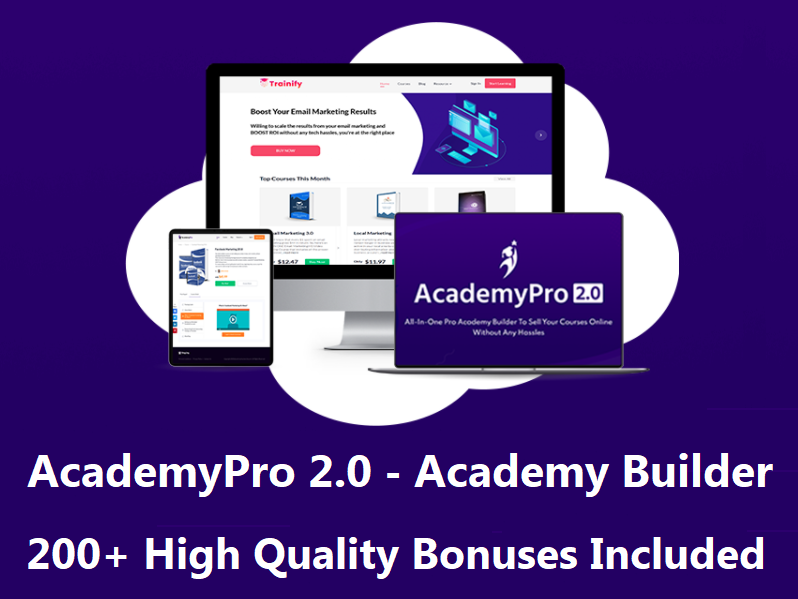 AcademyPro 2.0 – All-In-One Pro Academy Builder