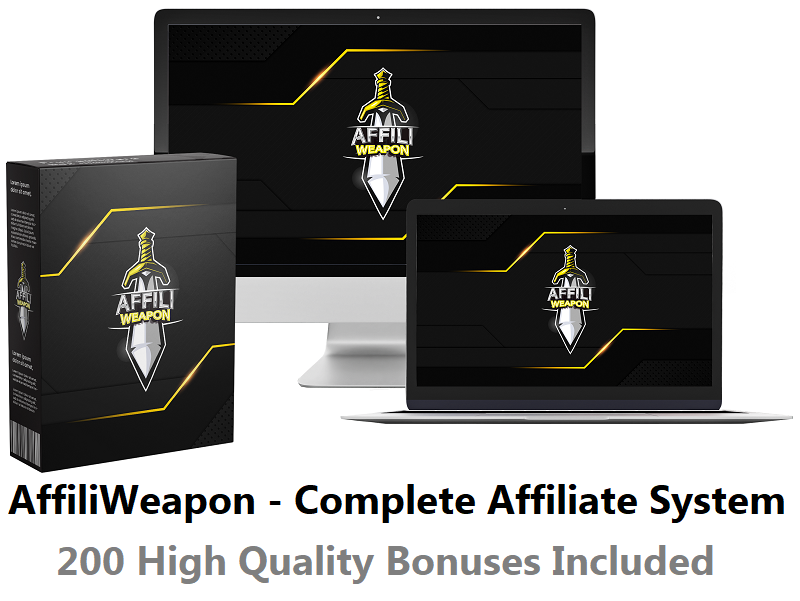 AffiliWeapon – Complete Affiliate System