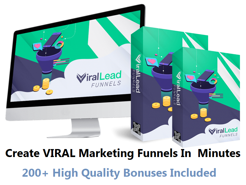 Viral Lead Funnels – Create VIRAL Marketing Funnels In Just Minutes