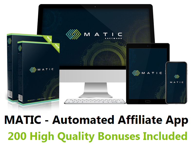 MATIC – Automated Affiliate App